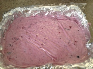 Frozen Craberry Salad